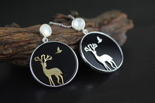 Load image into Gallery viewer, Women Fashion Silver necklace deer pendant jewelry - Acecare Jewellery Store
