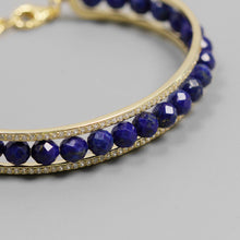 Load image into Gallery viewer, Originally fashionable zircon-inlaid open Bracelet - Acecare Jewellery Store