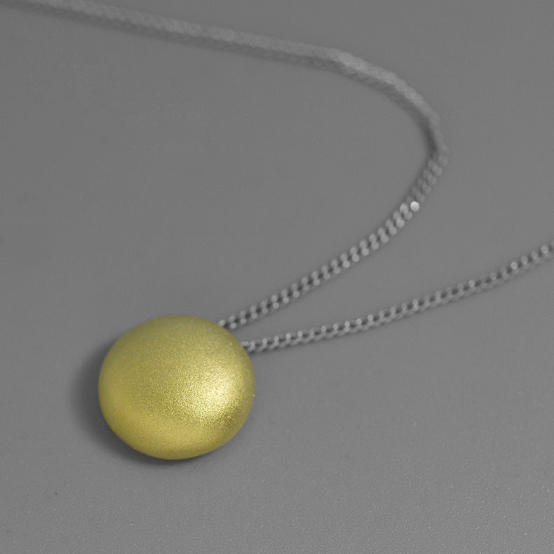 Minimalist Fashion Necklace silver necklace female necklace without chain - Acecare Jewellery Store