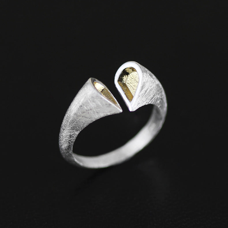 Jewelry Ring Original Simple Heart-Shaped Ring - Acecare Jewellery Store