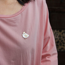 Load image into Gallery viewer, Silver Bird Lovely Dumb Meng Broochfor women - Acecare Jewellery Store
