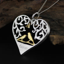 Load image into Gallery viewer, Silver necklace for women Hollow Bird Silver Drop (for Romantic dates Jewelry) Wholesale - Acecare Jewellery Store