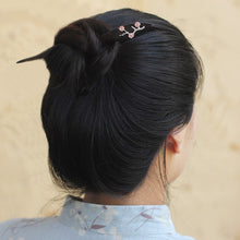 Load image into Gallery viewer, Dark Fragrance | Chinese Aesthetic Hair Pin - Acecare Jewellery Store