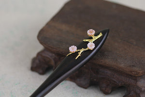 Dark Fragrance | Chinese Aesthetic Hair Pin - Acecare Jewellery Store