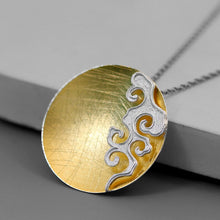 Load image into Gallery viewer, Women necklace concise fire moire pendant without chain - Acecare Jewellery Store