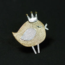 Load image into Gallery viewer, Silver Lovely Princess Bird Series Broochfor Women - Acecare Jewellery Store