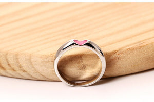 Simplistic Couple love ring | male and female | Korean Design - Acecare Jewellery Store