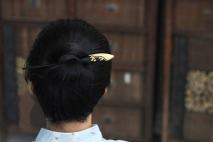 Chinese Style Wooden Hair Pin/Sticks Retro Carved Hairpin for Women - Acecare Jewellery Store