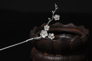 Classical Chinese Style Hanfu Hairpins | Silver Ancient Wind Hairpin - Acecare Jewellery Store