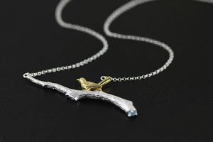 Ewelry female necklace silver necklaces pendant femme - Acecare Jewellery Store