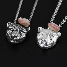 Load image into Gallery viewer, Silver necklace bear pendant jewelry for women - Acecare Jewellery Store
