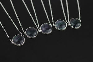 Original Ningxia Pure Silver Hollow-out Lace-in Jewelry Necklace for women - Acecare Jewellery Store