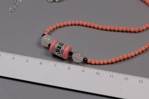 Cleaner hand-bearing female beads coral necklace - Acecare Jewellery Store