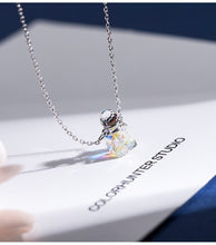 Load image into Gallery viewer, Creative Korean Perfume Crystal Bottle Pendant  Necklacewith chain for female(Wholesale) - Acecare Jewellery Store