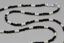 Load image into Gallery viewer, Handmade beaded women's pearl agate necklace zircon pav leopard head - Acecare Jewellery Store