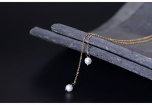 Korean Fashion Handmade Diy Adjustable Long Sweater Chain necklace - Acecare Jewellery Store