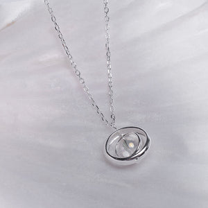 Time and space love natural crystal necklace for women (wholesale) - Acecare Jewellery Store