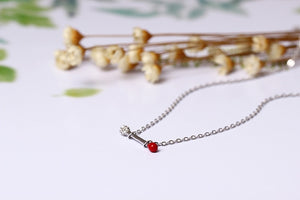Shiny zircon clavicle chain necklace - Acecare Jewellery Store