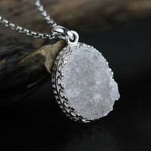 Load image into Gallery viewer, Gemstone necklace 925 sterling silver wholesale concise without chain - Acecare Jewellery Store