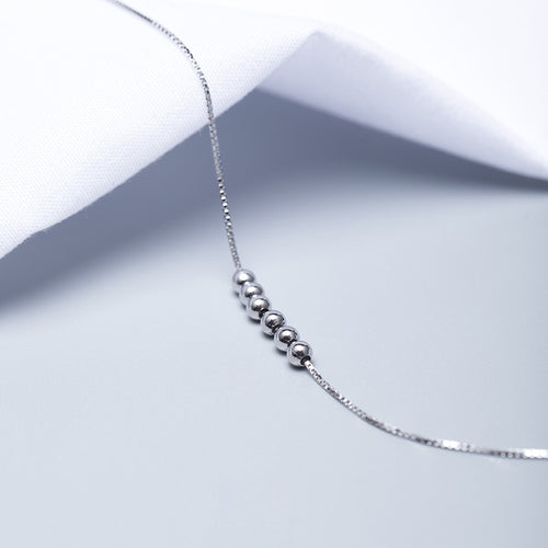 Silver Anklet with Japanese design (wholesale) - Acecare Jewellery Store