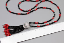 Load image into Gallery viewer, Handmade beaded agate leopard head necklace - Acecare Jewellery Store
