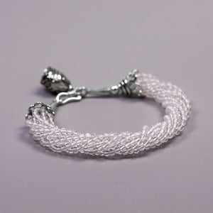 Silver jewelry handmade beaded crystal bracelet wholesale - Acecare Jewellery Store