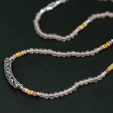 Load image into Gallery viewer, Silver hand-beaded bead  necklace Ornaments (wholesale) - Acecare Jewellery Store