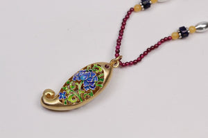 Ornament Handmade Beads Pomegranate necklace (Wholesale) - Acecare Jewellery Store
