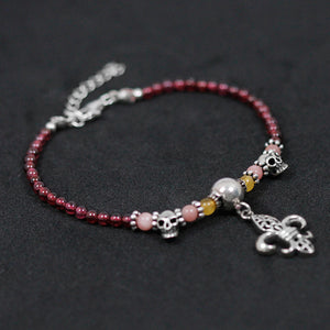 Hand-headed beads gartens stylus skull headset personality dilapid - Acecare Jewellery Store
