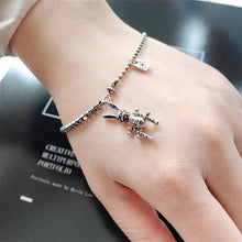Load image into Gallery viewer, Rabbit Thai Silver  Chain Punk Gothic Bracelet - Acecare Jewellery Store