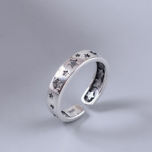 Silver dipper open ring |Korean Design - Acecare Jewellery Store