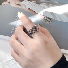 Load image into Gallery viewer, Retro Punk Ball Hollow Open Ring Unique Design for Women - Acecare Jewellery Store