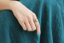 Load image into Gallery viewer, Fashion chalcedony mosaic silver ring - Acecare Jewellery Store