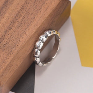 Vintage gold-plated craft rock ring - Acecare Jewellery Store