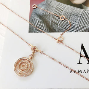 Fashion Compass Pendant Choker Necklace