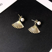 Load image into Gallery viewer, Korean Elegant Charm Bohemian Small Tassel Pearl  Earring