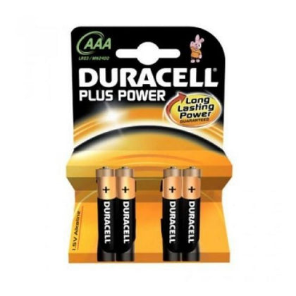 Piles alcalines Duracell AAA - Labelpile PAAA1