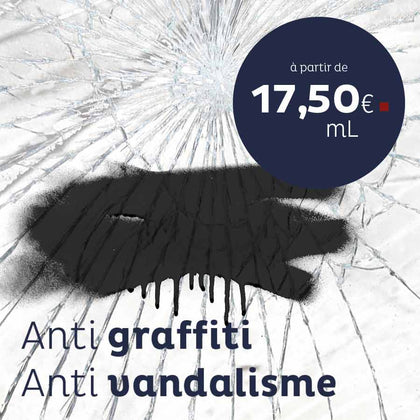 Film anti-graffiti / anti-vandalisme - Lebeaufilmanigraffitiadhésif