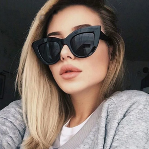 Fashion Sunglasses Women Brand Designer Vintage Cat Eye