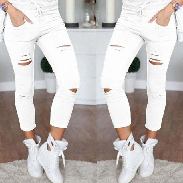 High Waist Leggings Trousers Fashion Pants