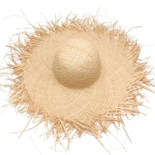 NEW Handmade Women Straw Sun Hats Large Wide - Nik Boutique