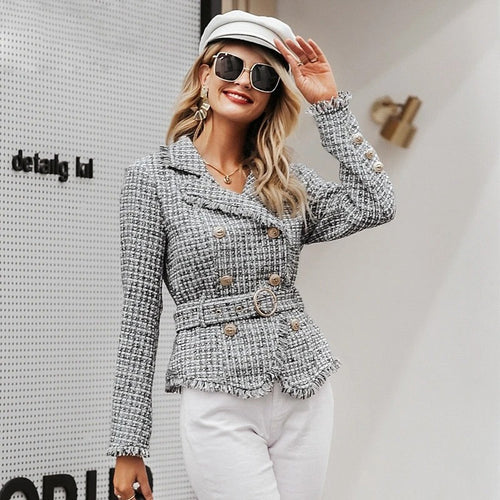 Long sleeve outwear blazer - Nik Boutique