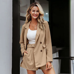 street wear suits female blazer - Nik Boutique