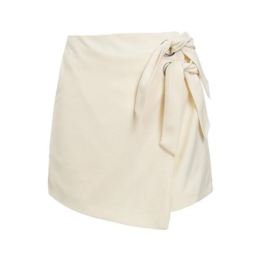 High waist sexy white women shorts - Nik Boutique