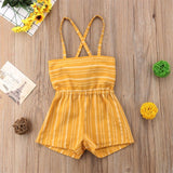 Summer Toddler Girl Off Shoulder