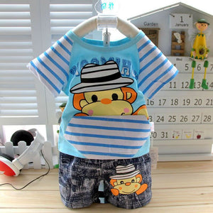 Monkey Short Sleeve T-Shirt  For Babies