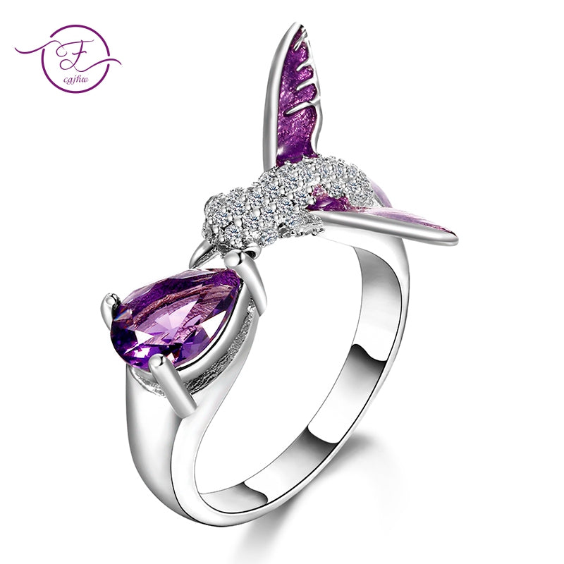 Original Bird Design Adjustable Open Rings For Women