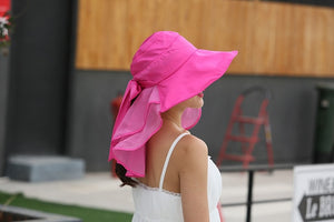 Sun Hats With Face Neck Protection For Women - Nik Boutique