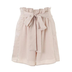 elastic waist shorts Chic pink loose streetwear - Nik Boutique