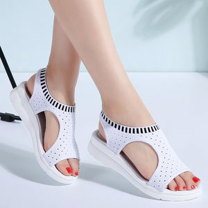 Women Comfortable Flat Sandals - Nik Boutique